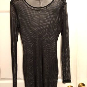 Forever 21 mesh cover up